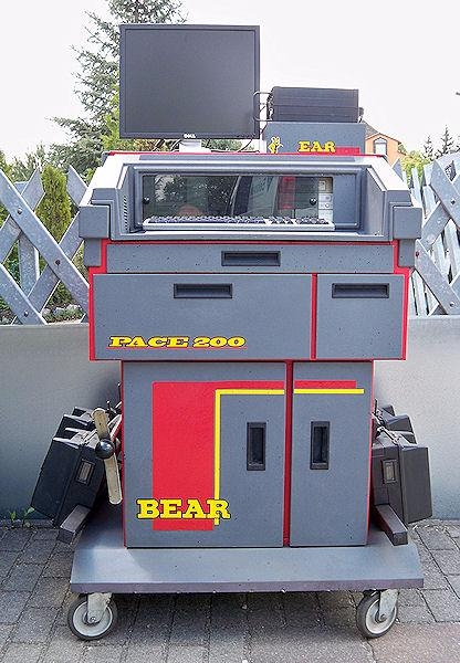 Ratu suvedimo stendas BEAR 2016m